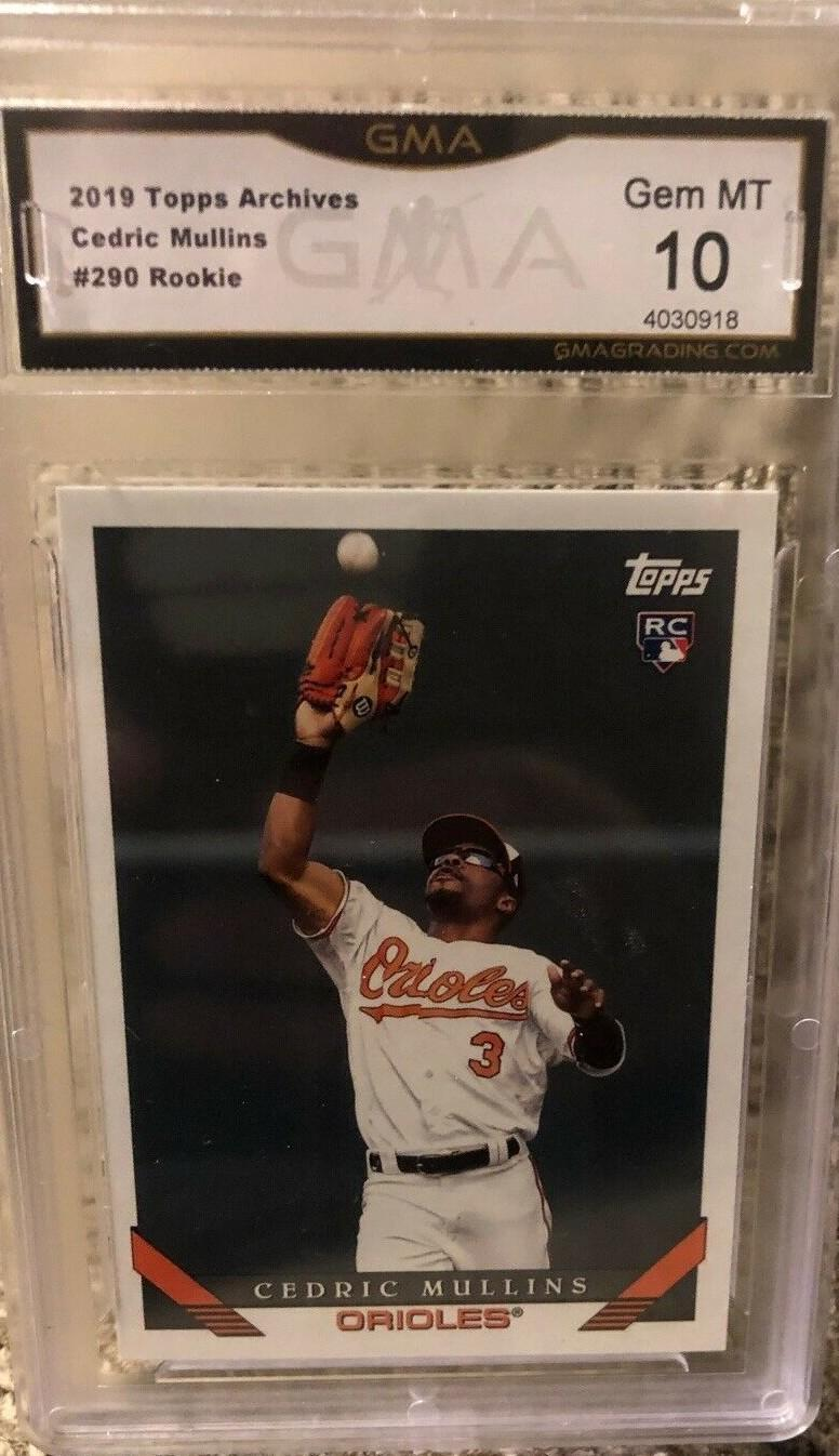 2019 TOPPS ARCHIVES GMA 10
