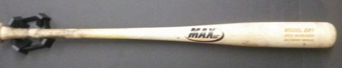 Nick Markakis Game Used Bat (Orioles COA)