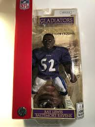 RAY LEWIS GLADIATORS OF THE GRIDIRON 10' DOLL
