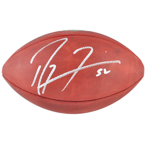 Ray Lewis signed Wilson On Field football