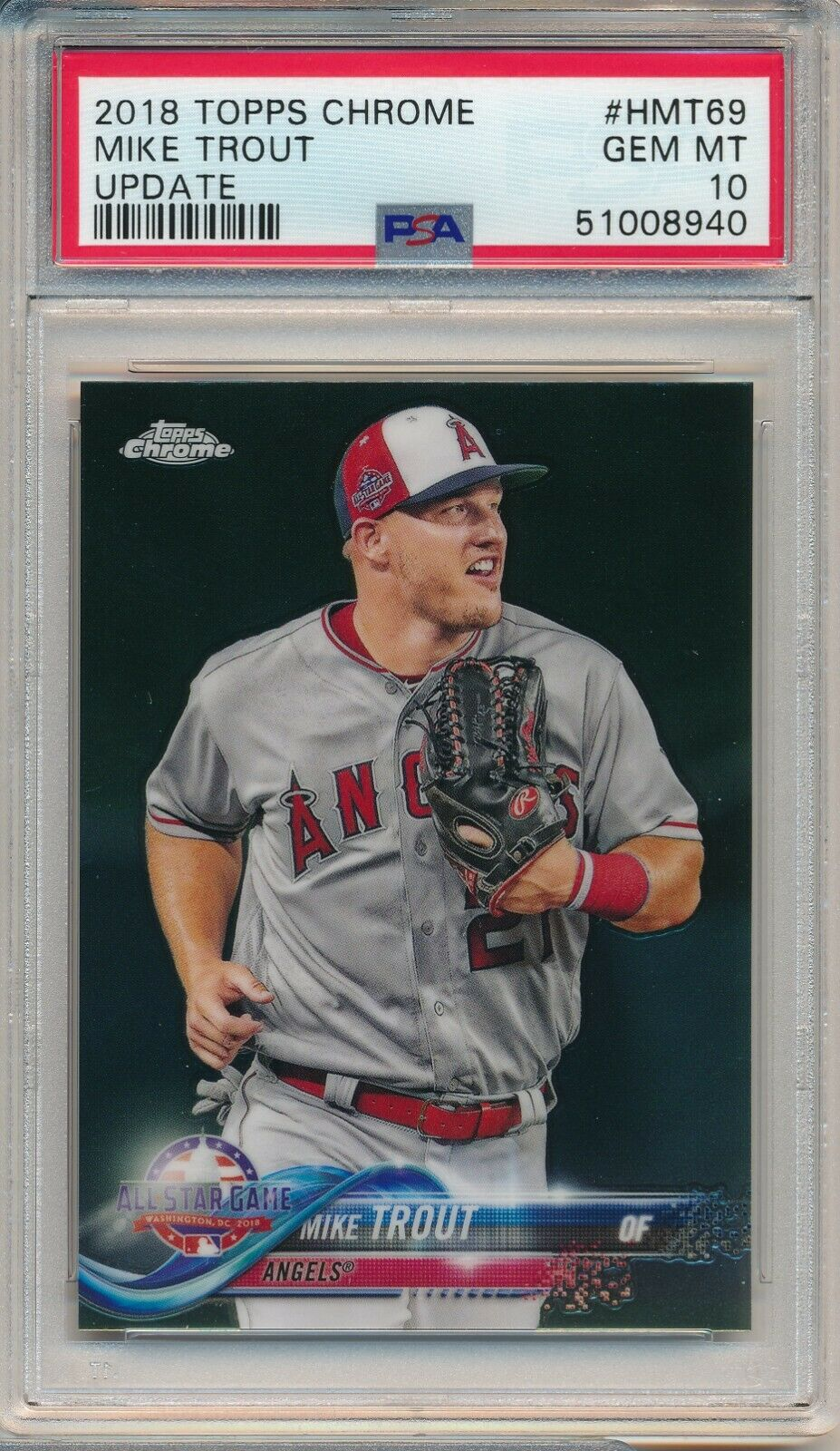 2018 TOPPS UPDATE MIKE TROUT