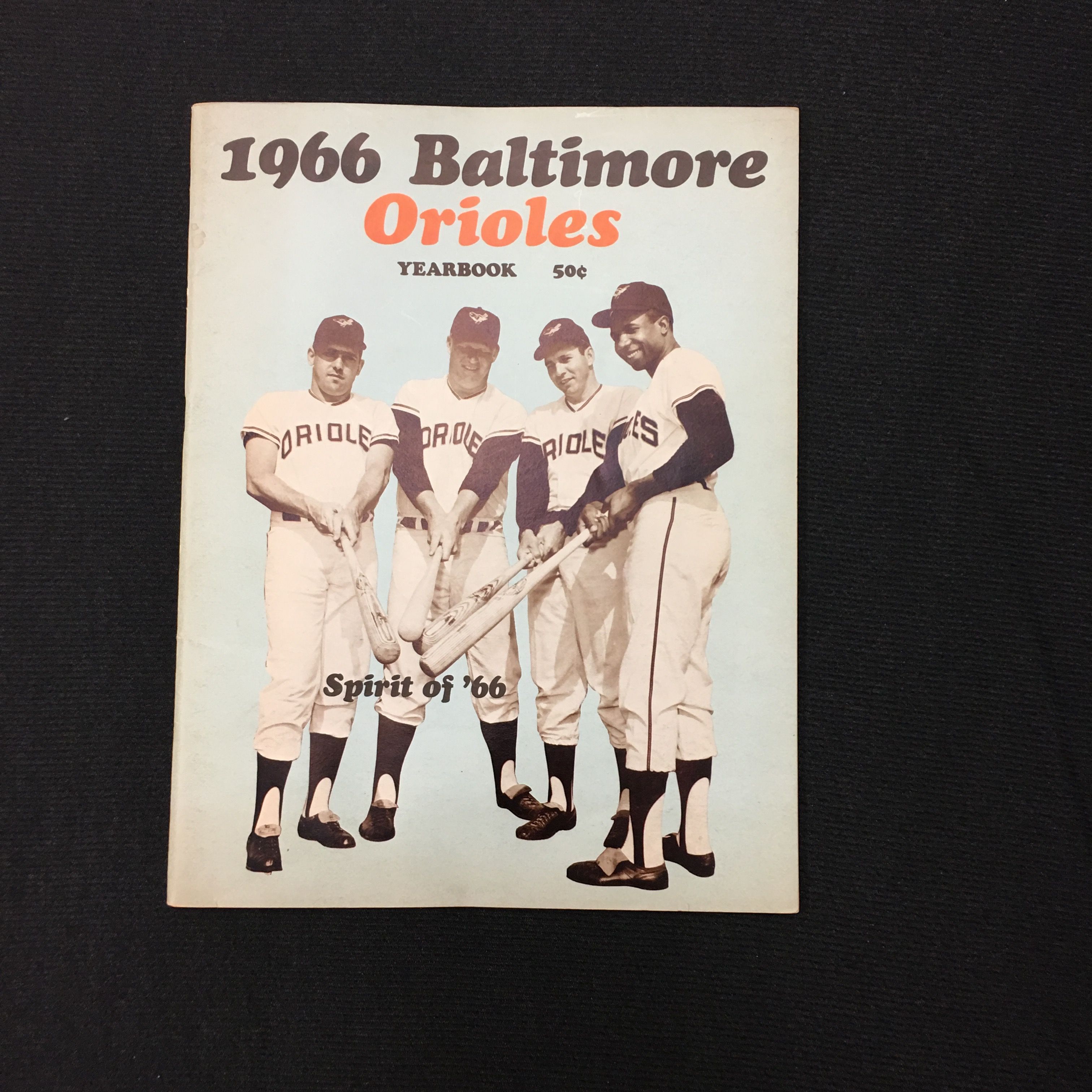 1966 Baltimore Orioles Yearbook