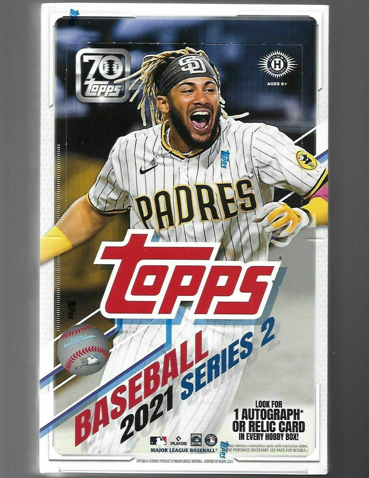 2021 Topps Baseball Series 2 Hobby Box