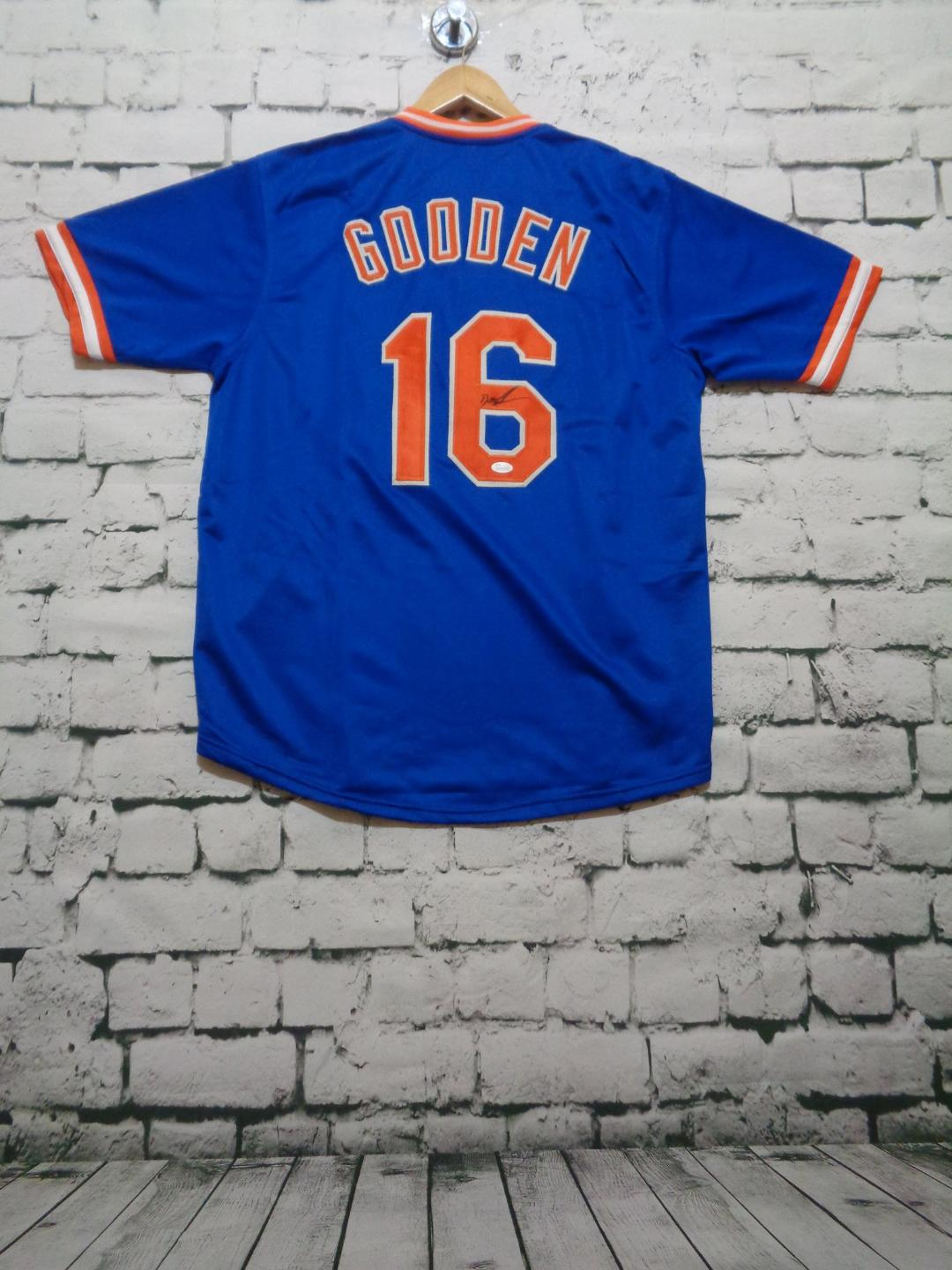 "Dwight ""Doc"" Gooden signed New York Mets jersey"