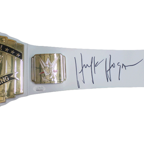 HULK HOGAN SIGNED CHAMPIONSHIP BELT