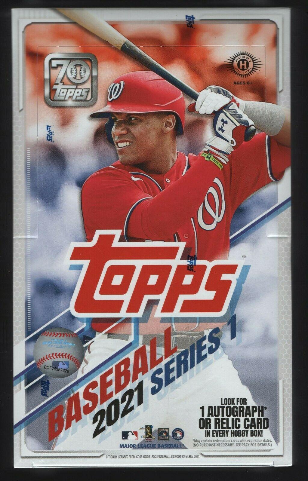 2021 Topps Baseball Hobby Box Series 1