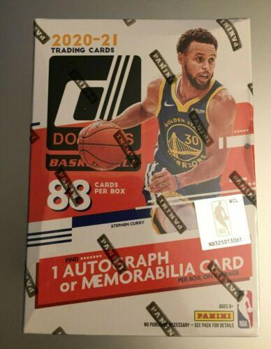 2020-21 PANINI DONRUSS NBA BASKETBALL Sealed Retail Blaster box