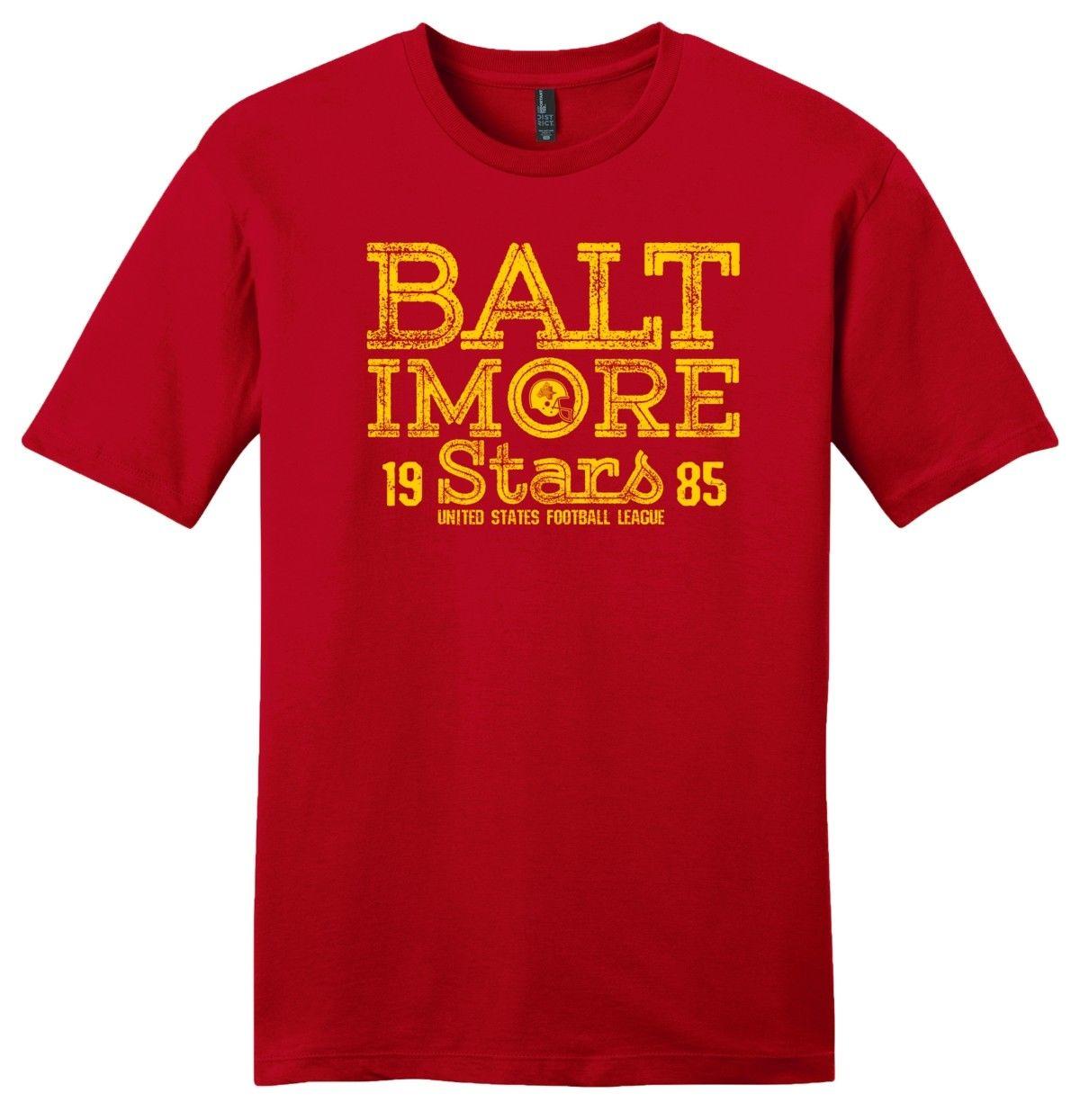 Baltimore Stars 1985 Script T Shirt