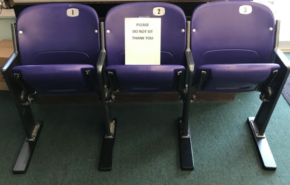 Ravens Stadium seats (Set of #3)