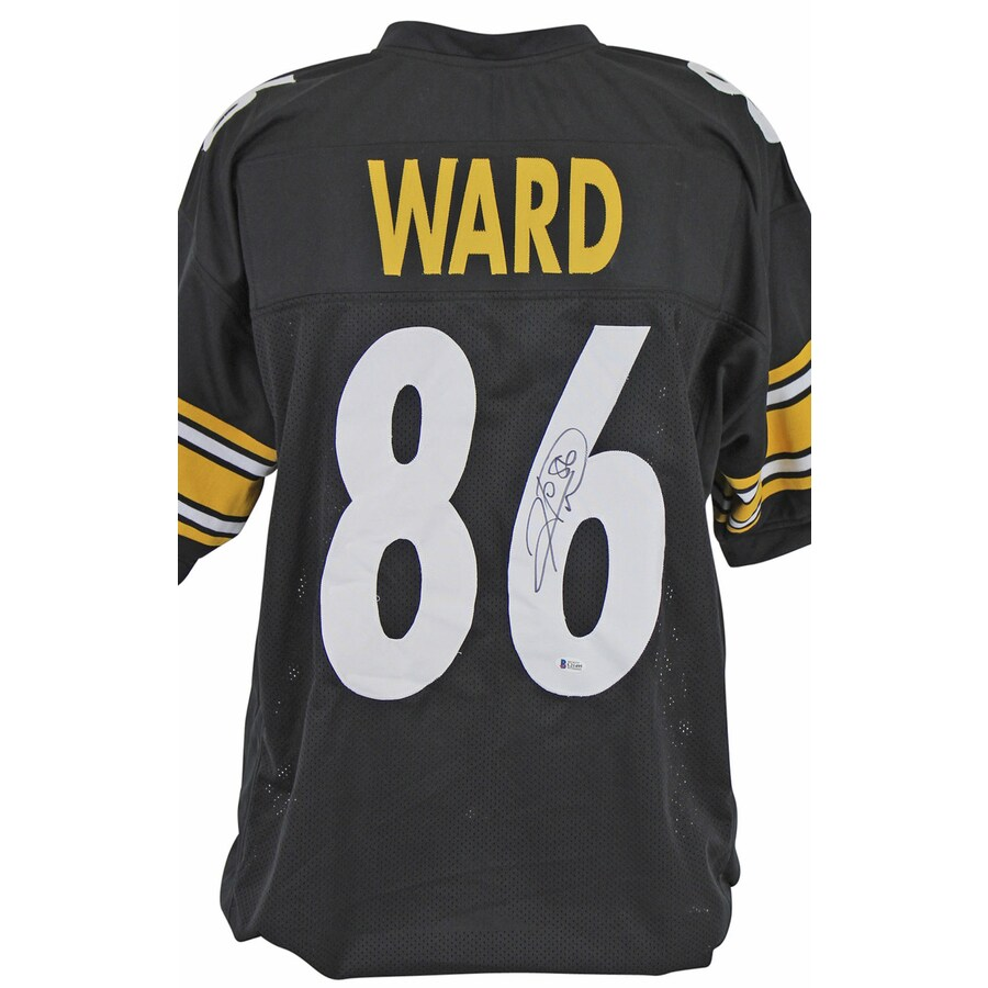 HINES WARD SIGNED STEELERS JERSEY