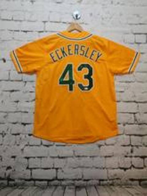 Dennis Eckersley signed Oakland A's Jersey