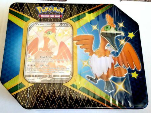 Pokemon TCG: Shining Fates Cramorant V Factory Sealed Tin