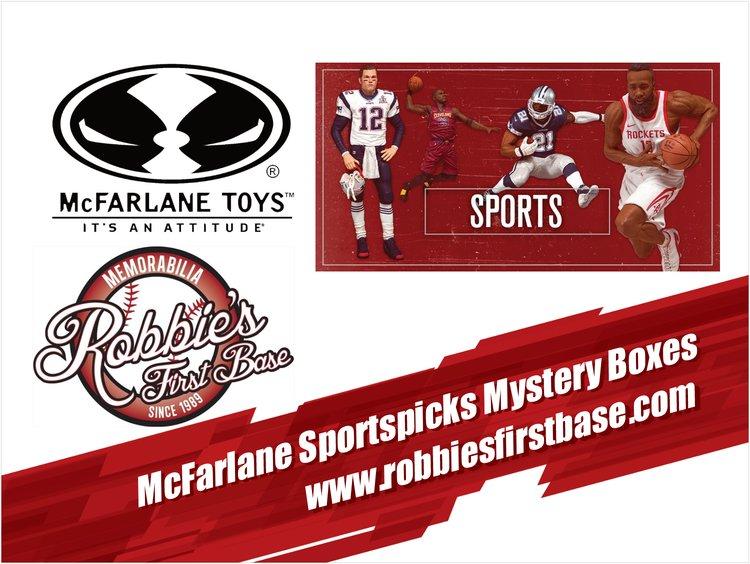 MCFARLANE SPORTSPICKS MYSTERY BOXES