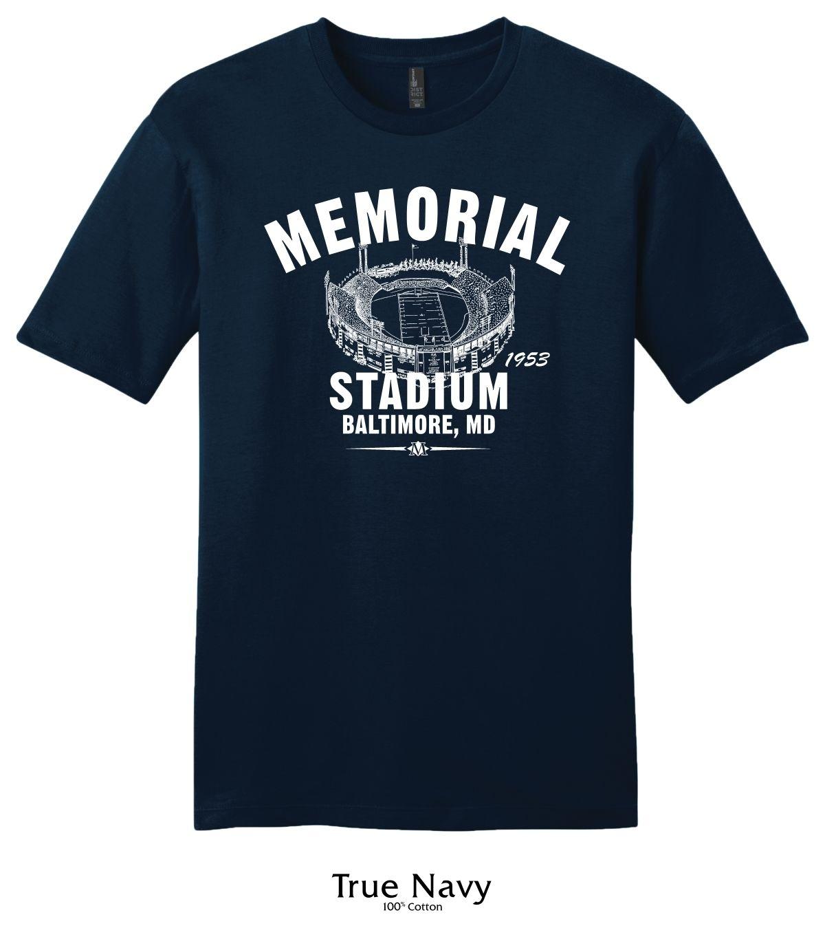 Memorial Stadium Colts Vintage T Shirt