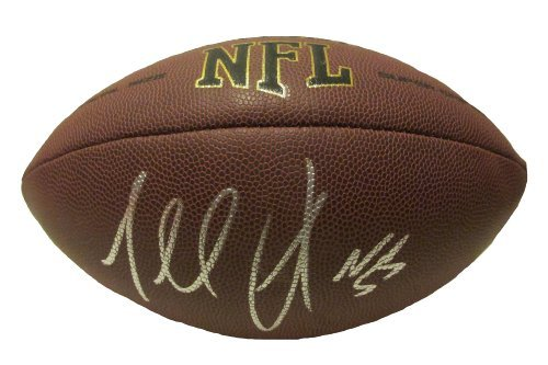 Terrell Suggs signed Wilson NFL composite football