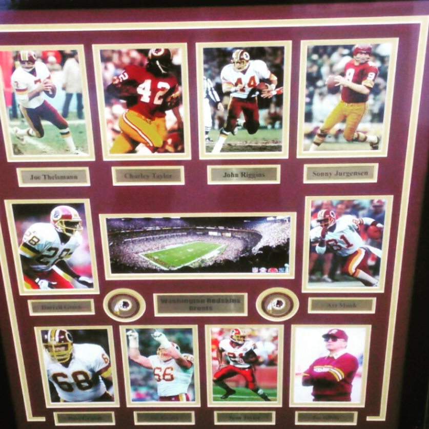 Redskins Dynasty Collage