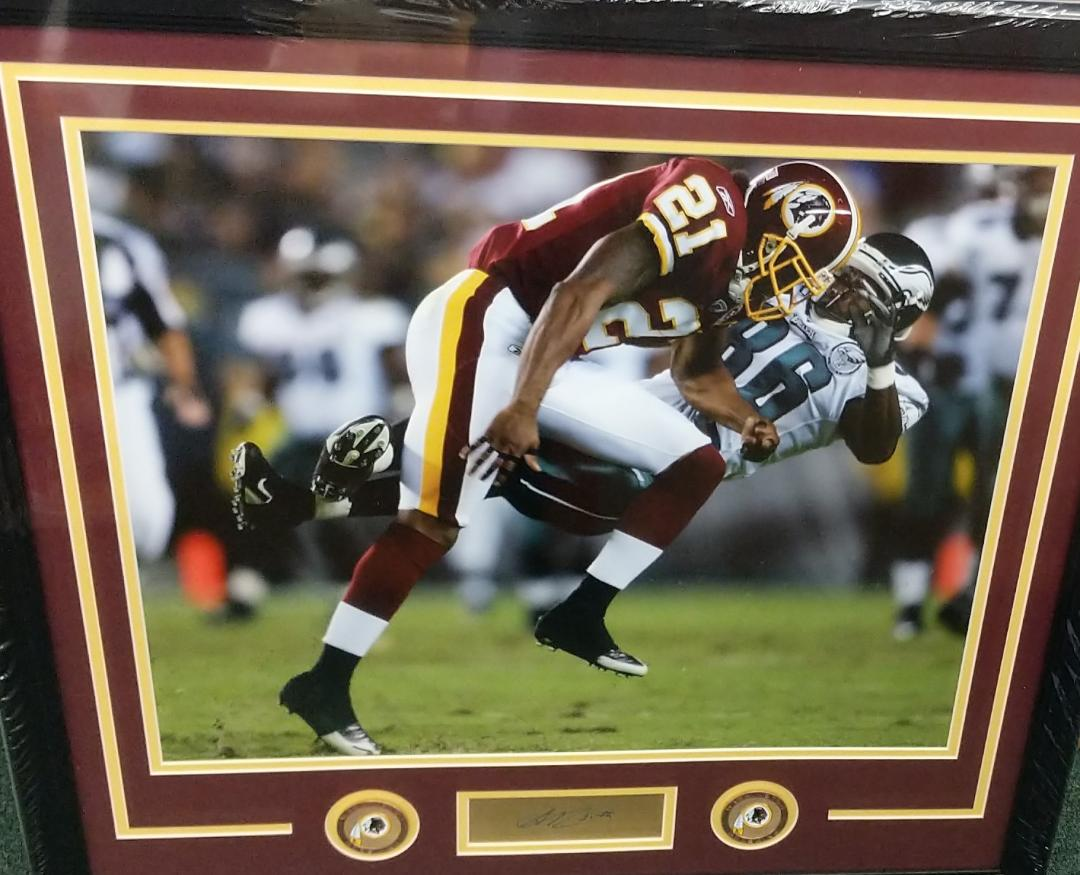 Sean Taylor Custom Framed photo -3 sizes