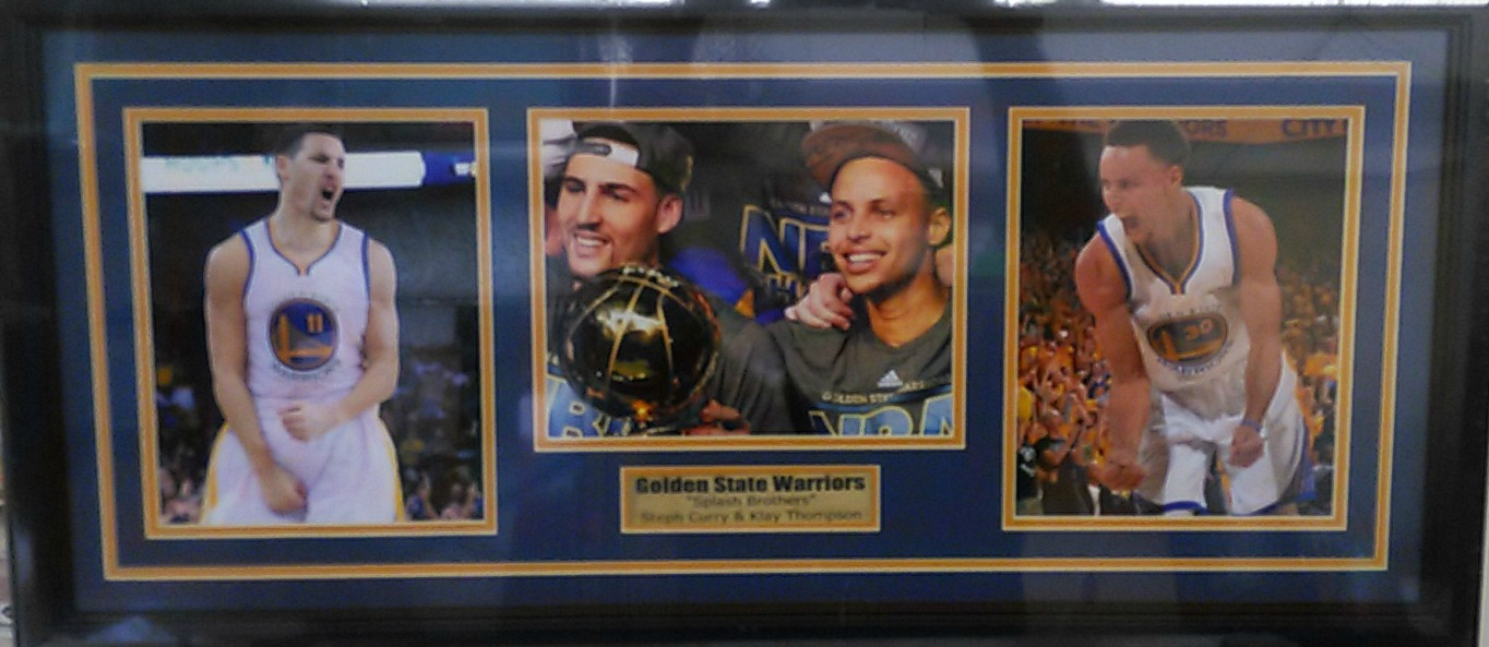 Splash Brothers Collage