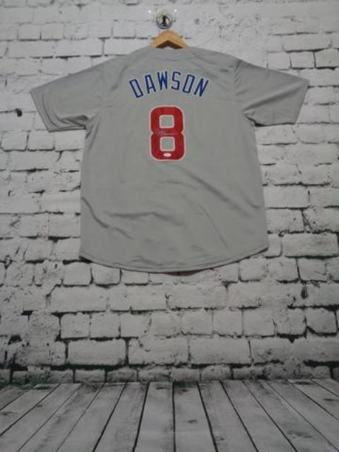 Andre Dawson signed Chicago Cubs jersey
