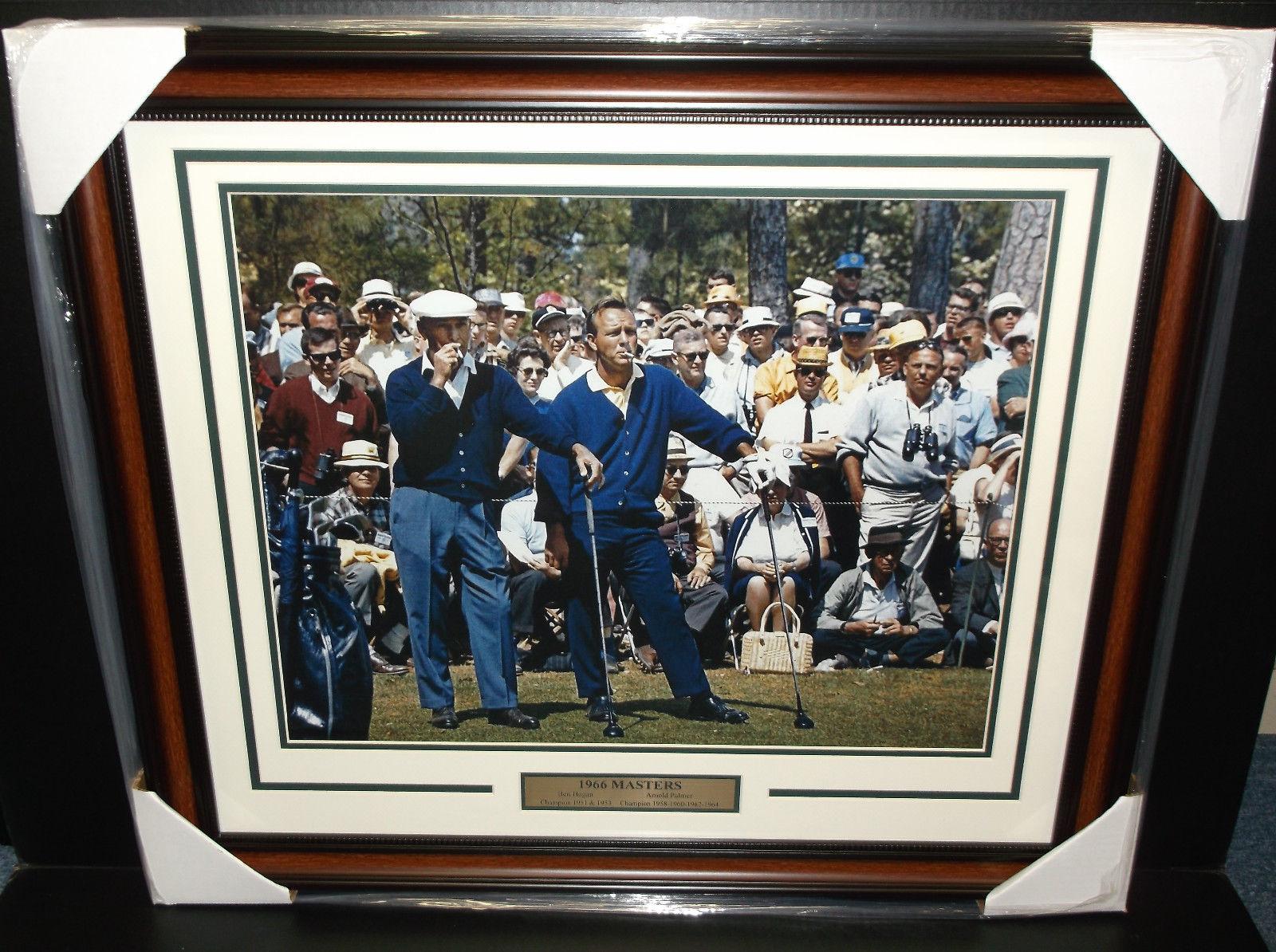 Ben Hogan and Arnold Palmer 1966 Masters 16x20