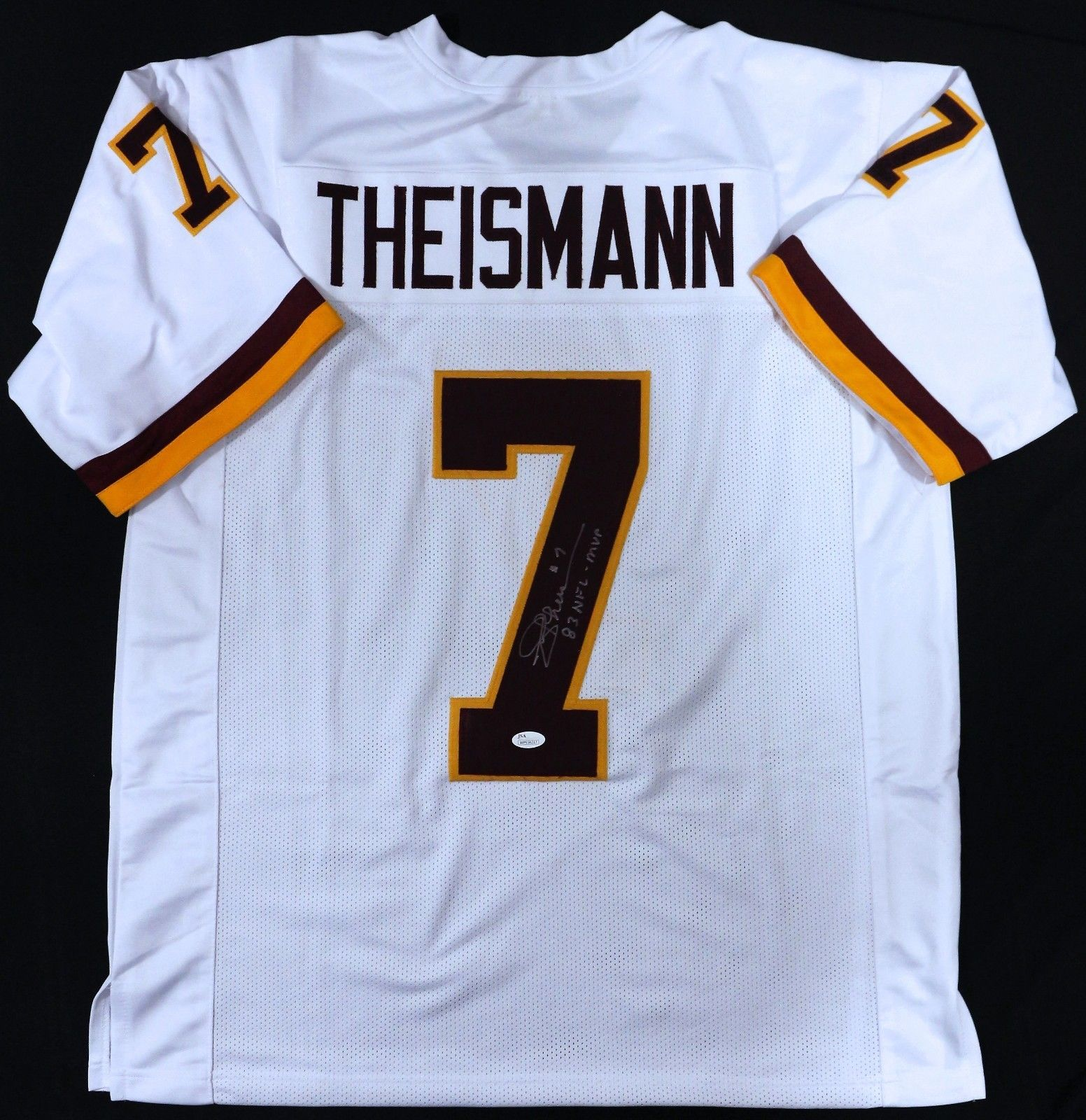 Joe Theismann signed Washington Redskins jersey