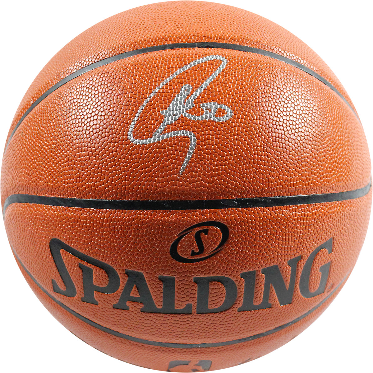 Stephen Curry Signed I/O Basketball (Fanatics Auth)