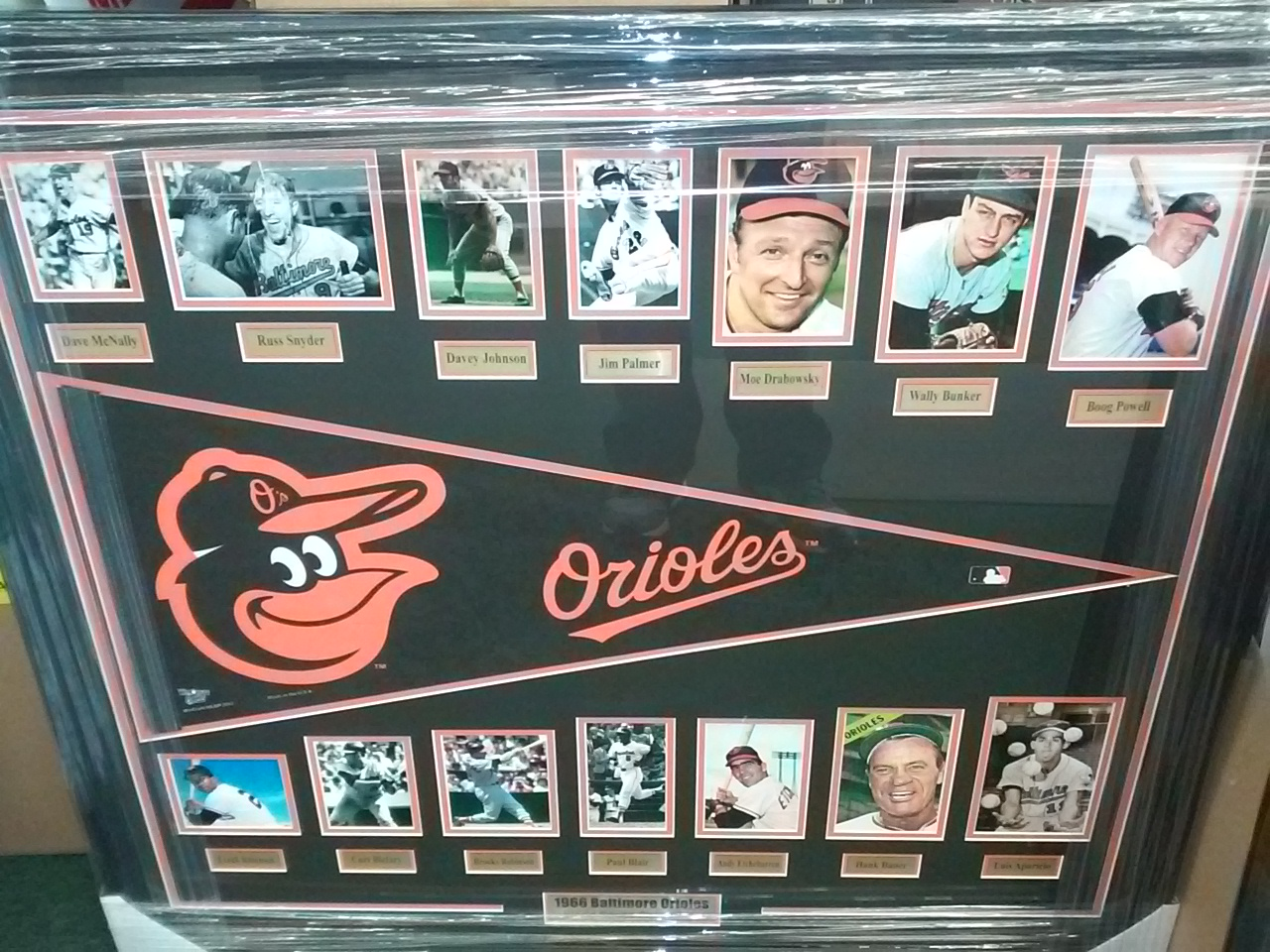 1966 Orioles Pennant Collage