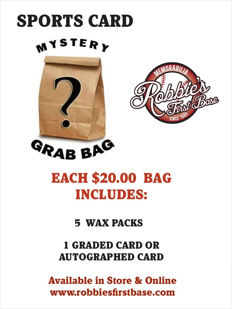 SPORTS CARD MYSTERY BAGS