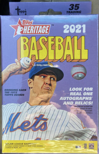 2021 Topps Heritage Baseball - Target Exclusive - Factory Sealed Hanger Box NEW