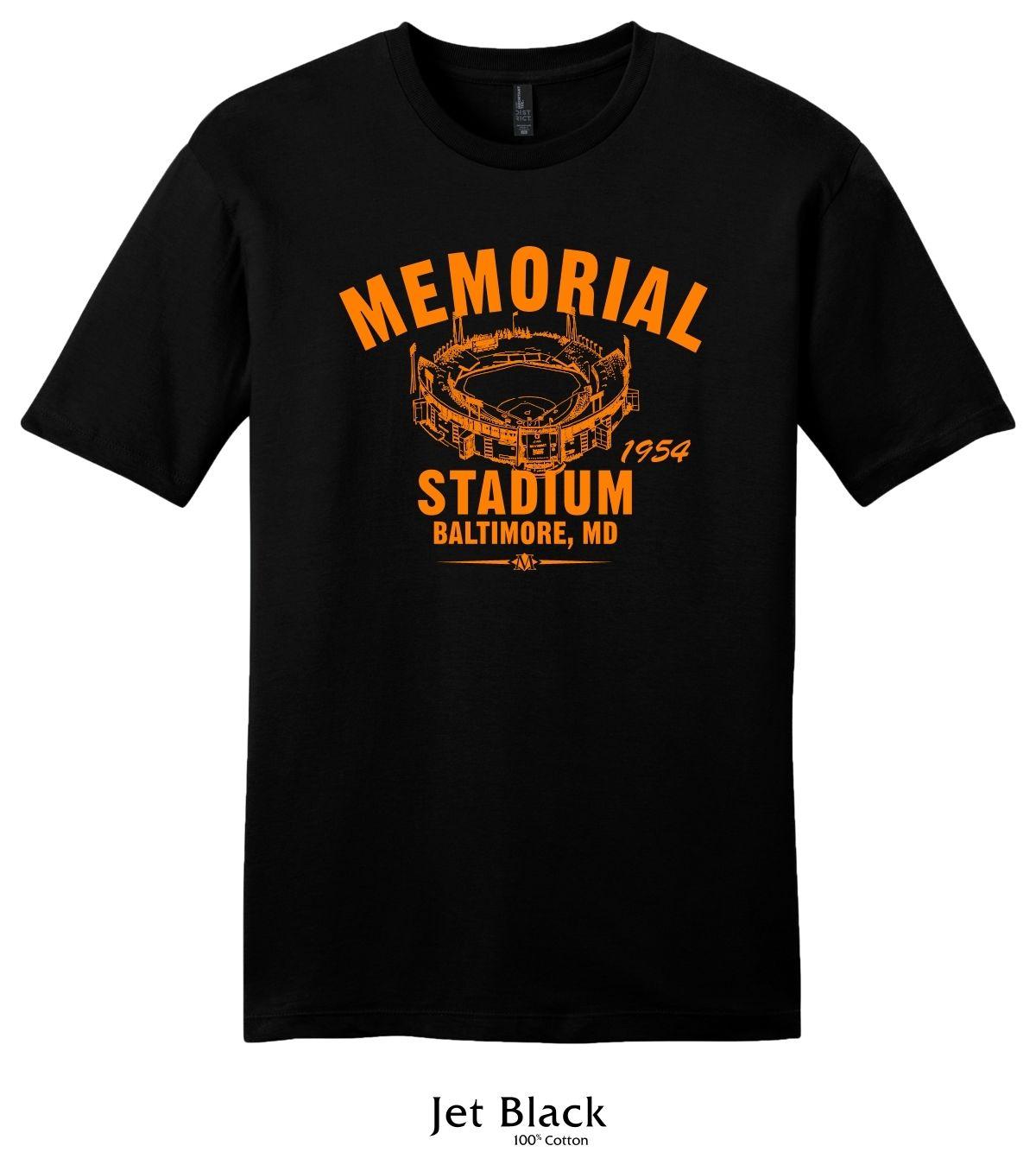 Memorial Stadium Baltimore Orioles T Shirt