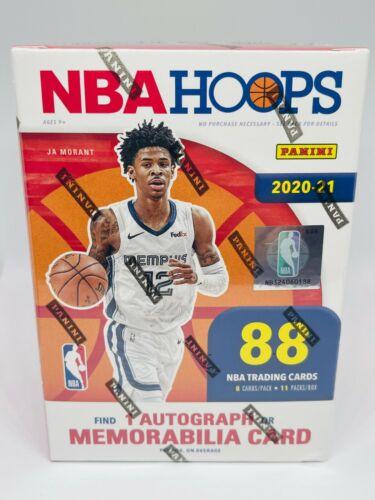 2020-21 Panini NBA HOOPS Basketball Retail Blaster
