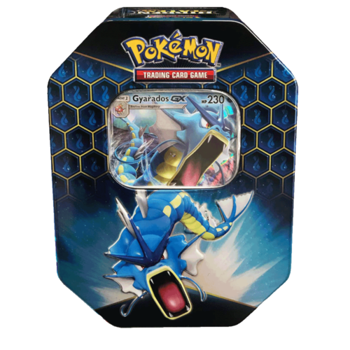 Pokemon Gyarados GX Hidden Fates Tin