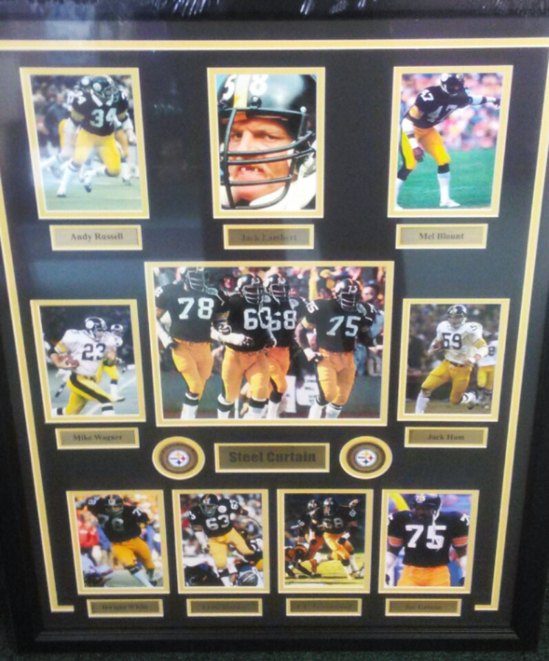 STEELERS STEEL CURTAIN COLLAGE