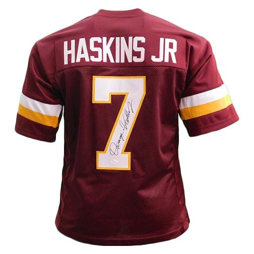 Dwayne Haskins signed Redskins Jersey