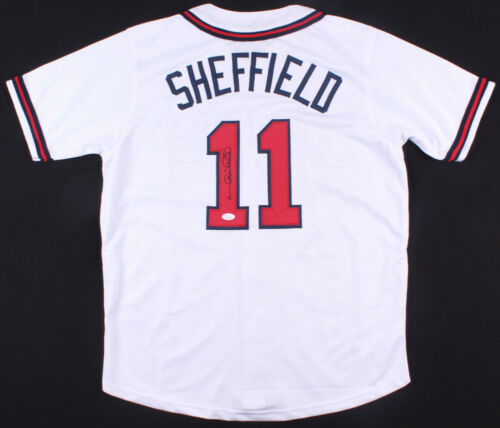 Gary Sheffield signed Atlanta Braves Jersey
