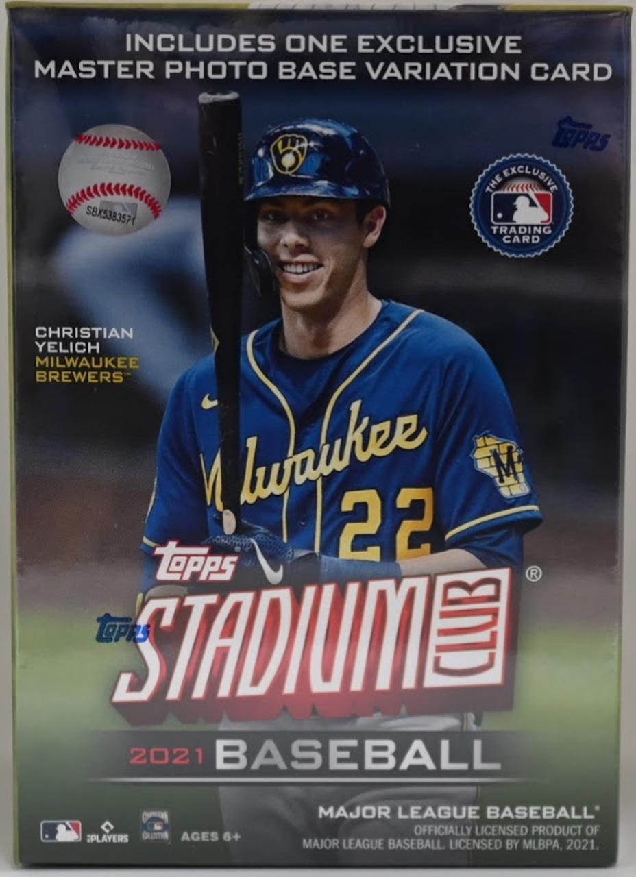 2021 Topps Stadium Club Baseball Blaster Box