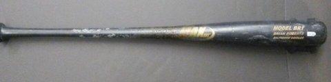 Brian Roberts Game Used MAXX Bat (Orioles COA)