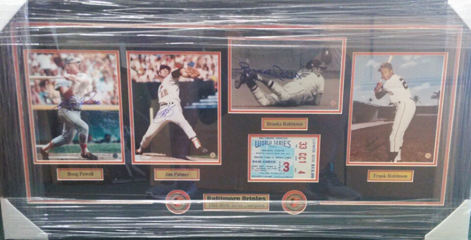 1966 Orioles World Series photo collage