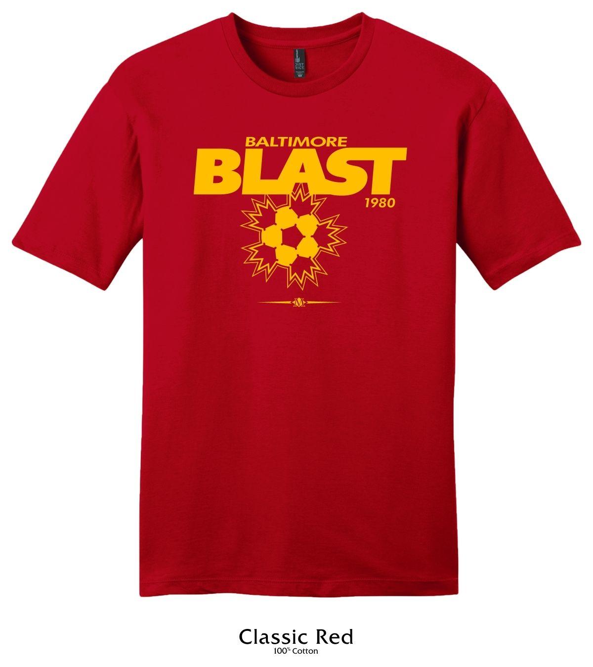 Baltimore Blast Vintage 1980 Logo T-Shirt