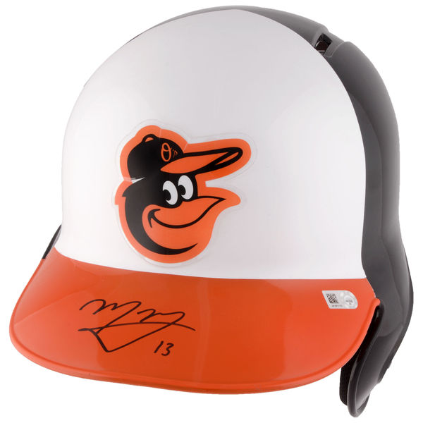 Manny Machado Baltimore Orioles Autographed Replica Batting Helmet (MLB Authenticated)