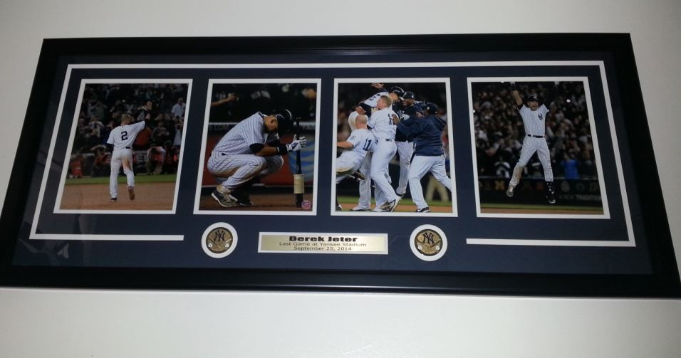 Derek Jeter Final Game at Yankee Stadium collage