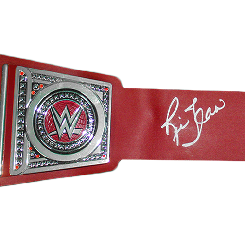 RICK FLAIR SIGNED CHAMPIONSHIP BELT