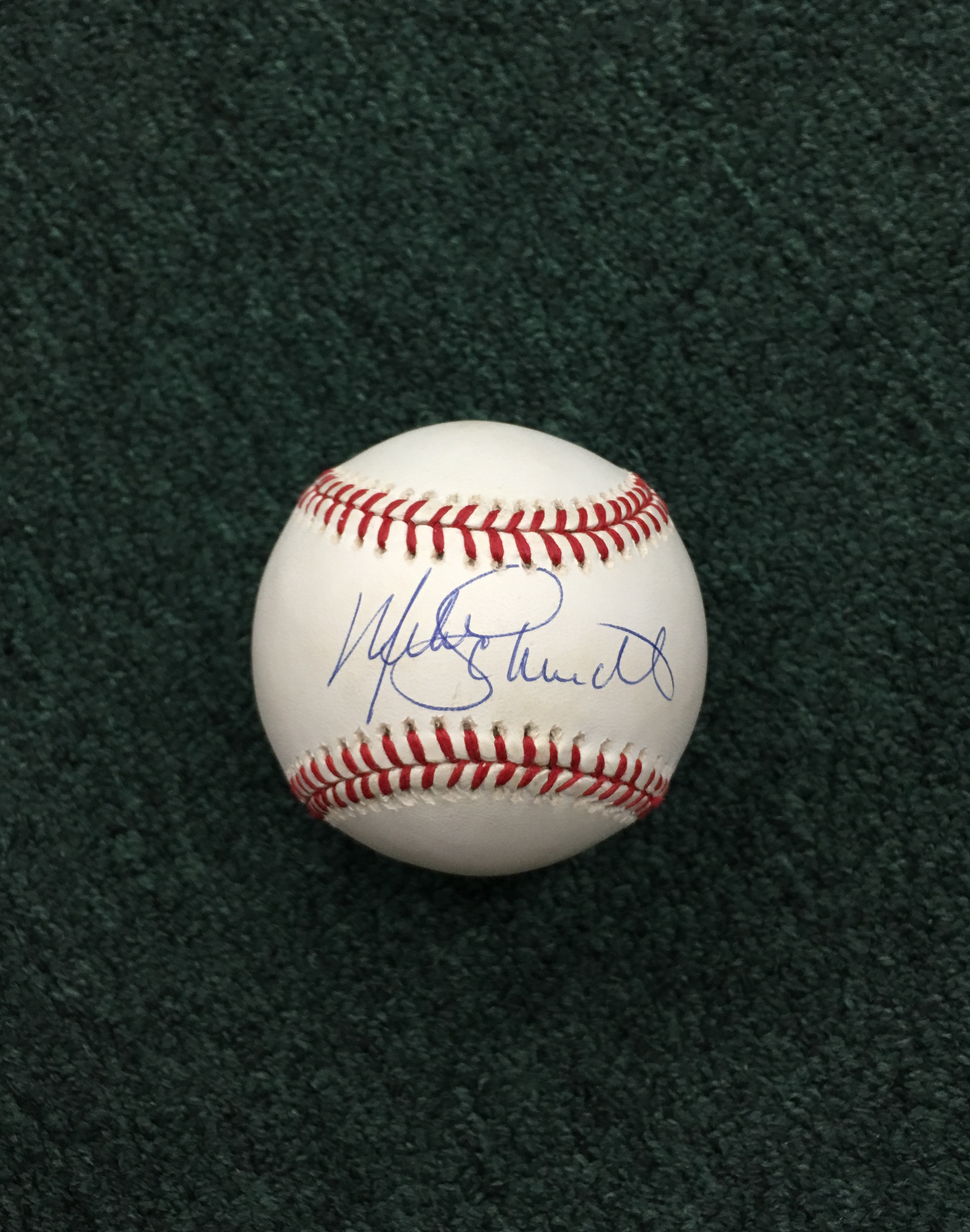 Mike Schmidt signed baseball
