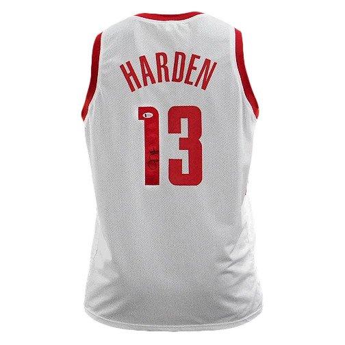 James Harden signed Houston Rockets Jersey (JSA)