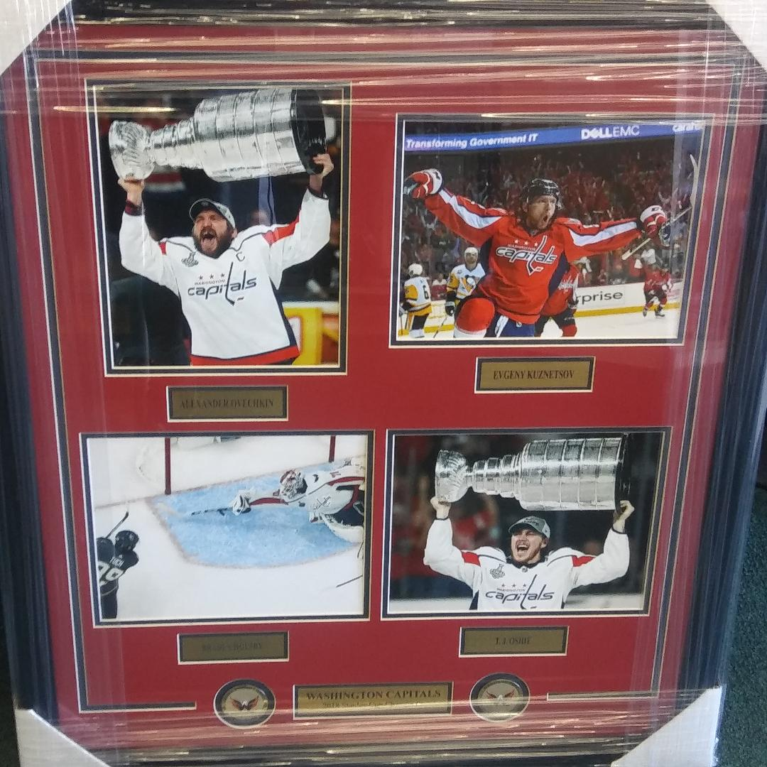 WASHINGTON  CAPITALS STANLEY CUP COLLAGE