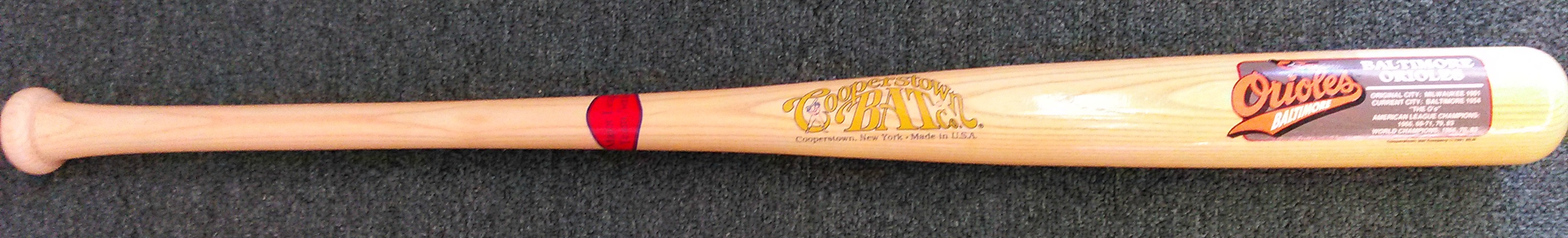 Baltimore Orioles Cooperstown Collection Orioles Bat