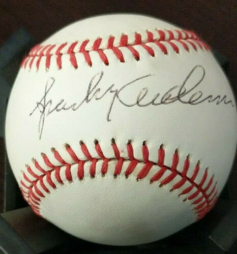 SPARKY ANDERSON SIGNED NATIONAL LEAGUE BASEBALL