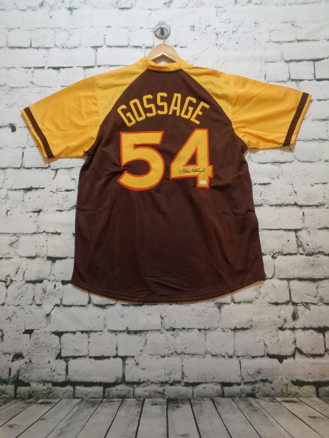 Goose Gossage signed San Diego Padres jersey