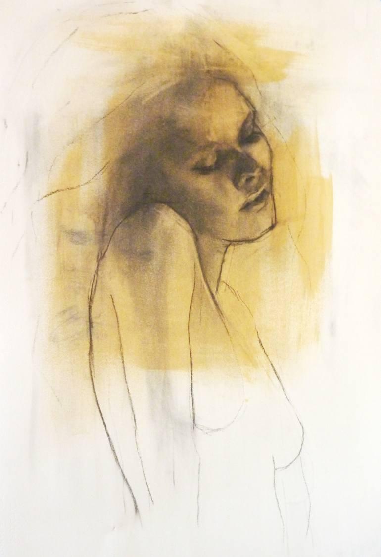 Anna Friel - limited edition giclee print 3/25