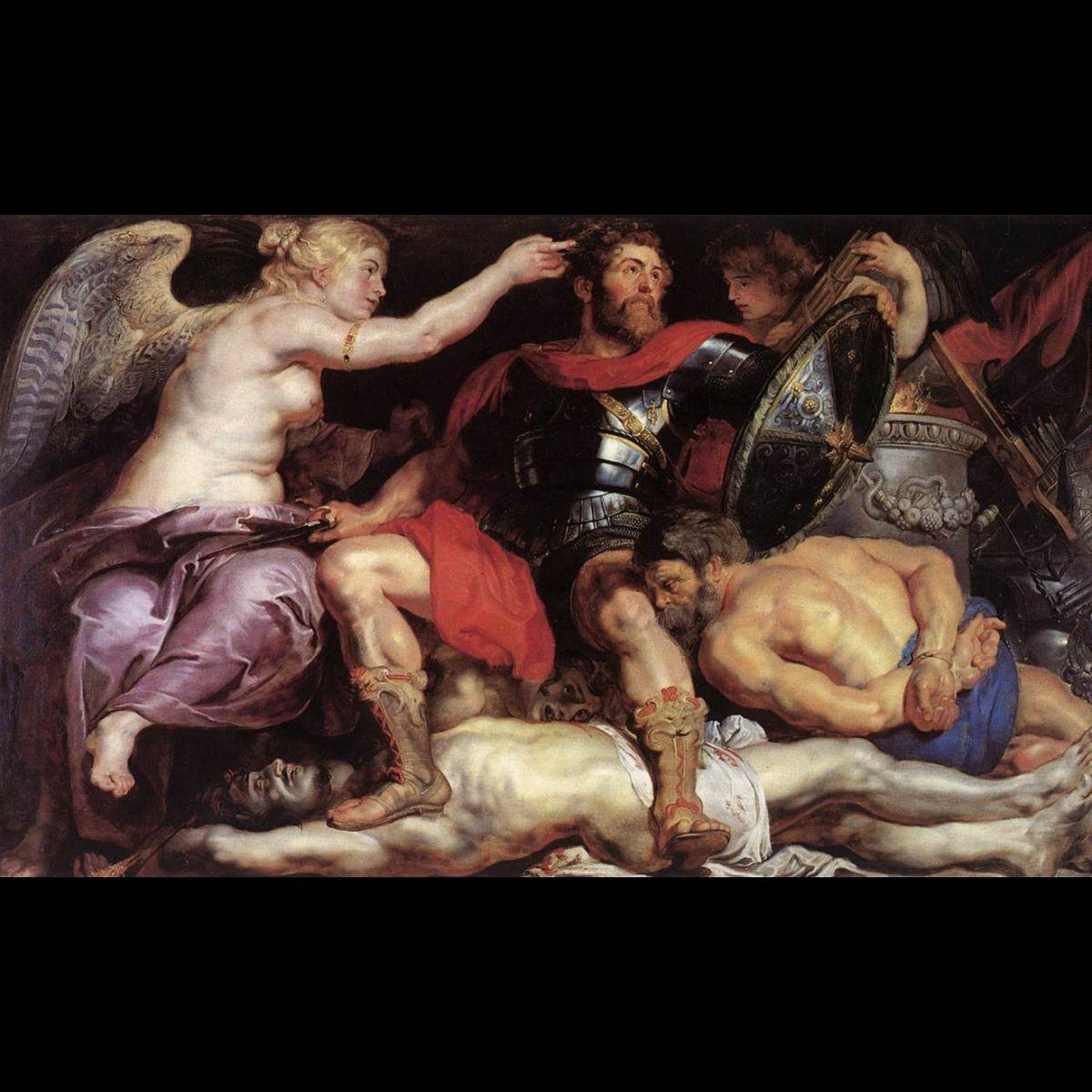 """Rubens Peter Paul """"Il Trionfo Della Vittoria"""""""